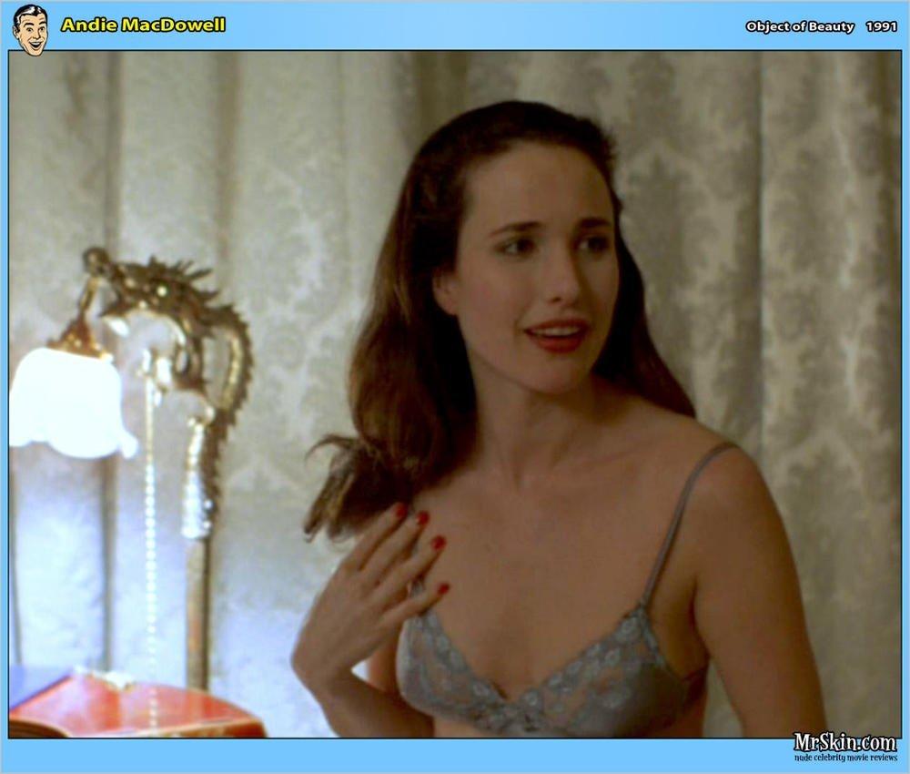 Nude andie macdowell Andie MacDowell
