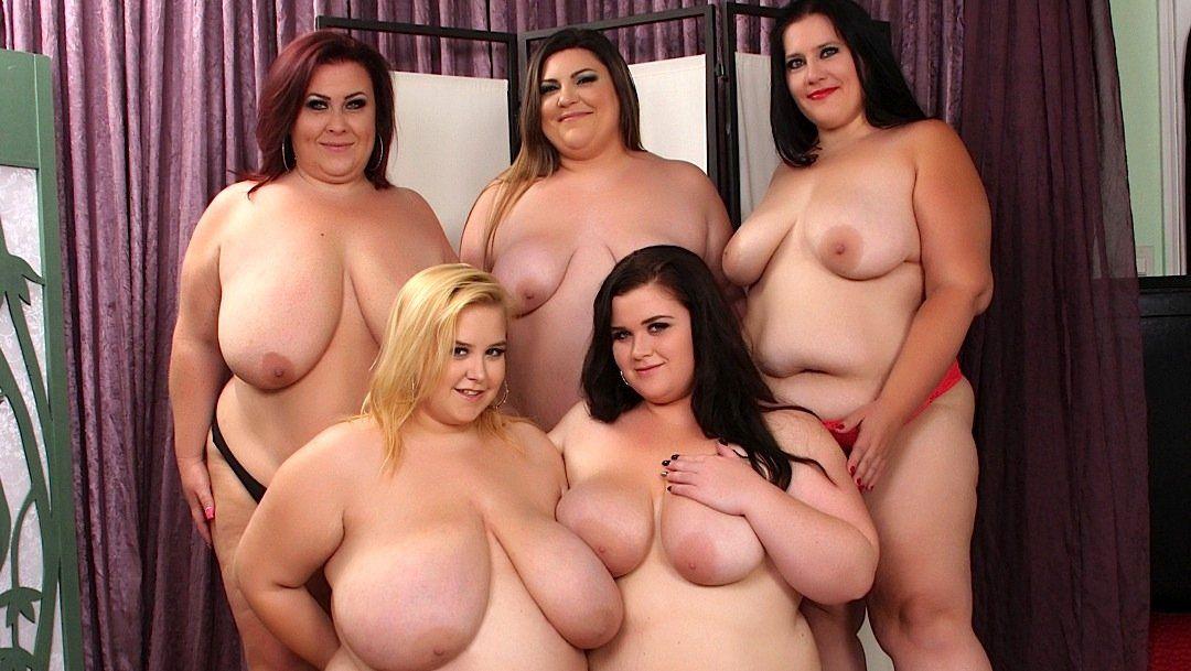 Fat lesbian sex