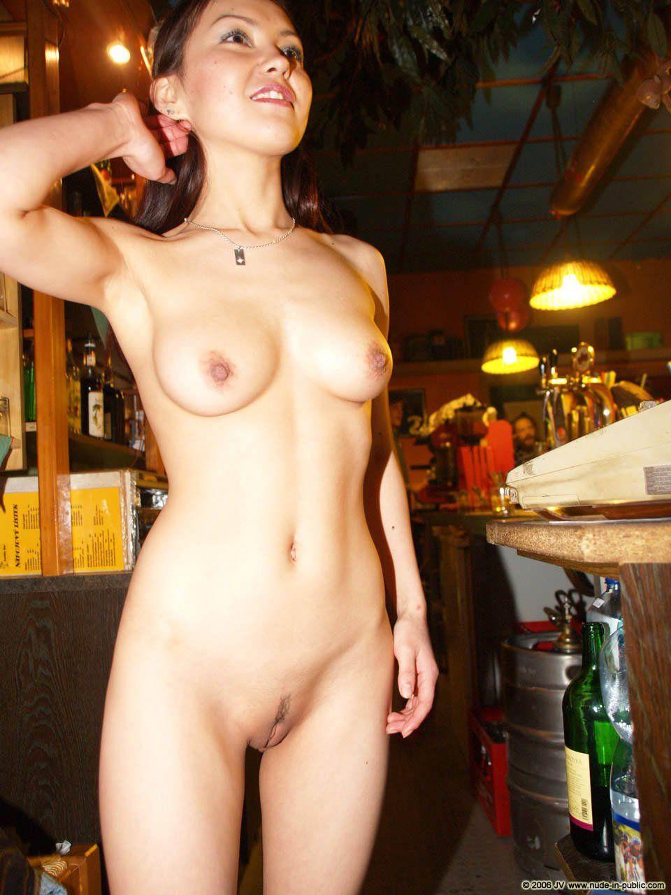public asian nude