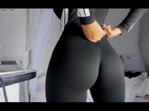 Grinch reccomend white yoga pants anal