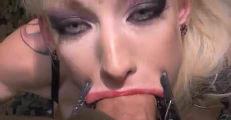 Snicky S. reccomend blonde big lips blowjob bbc