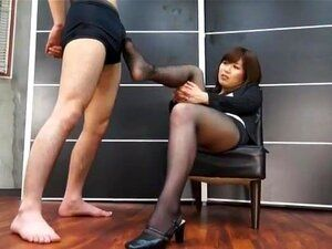 Red T. recommend best of femdom chinese stocking
