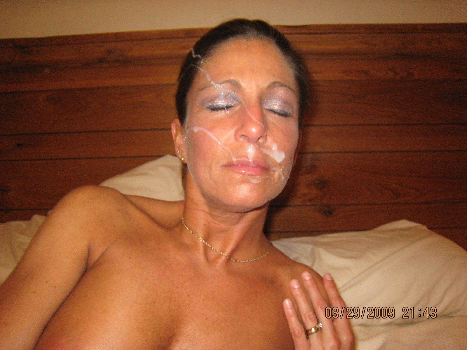 Pics milf facial Milf Facial