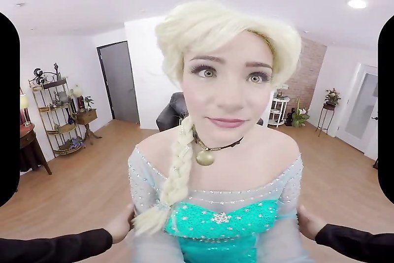 Frozen cosplay porn