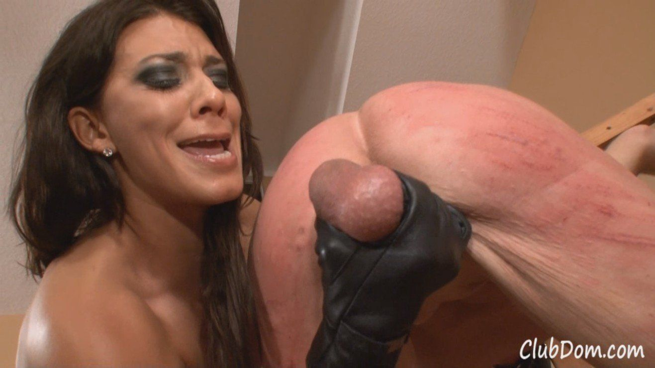 Squeeze femdom ball Femdom CBT