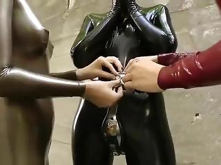 latex catsuit bondage fuck