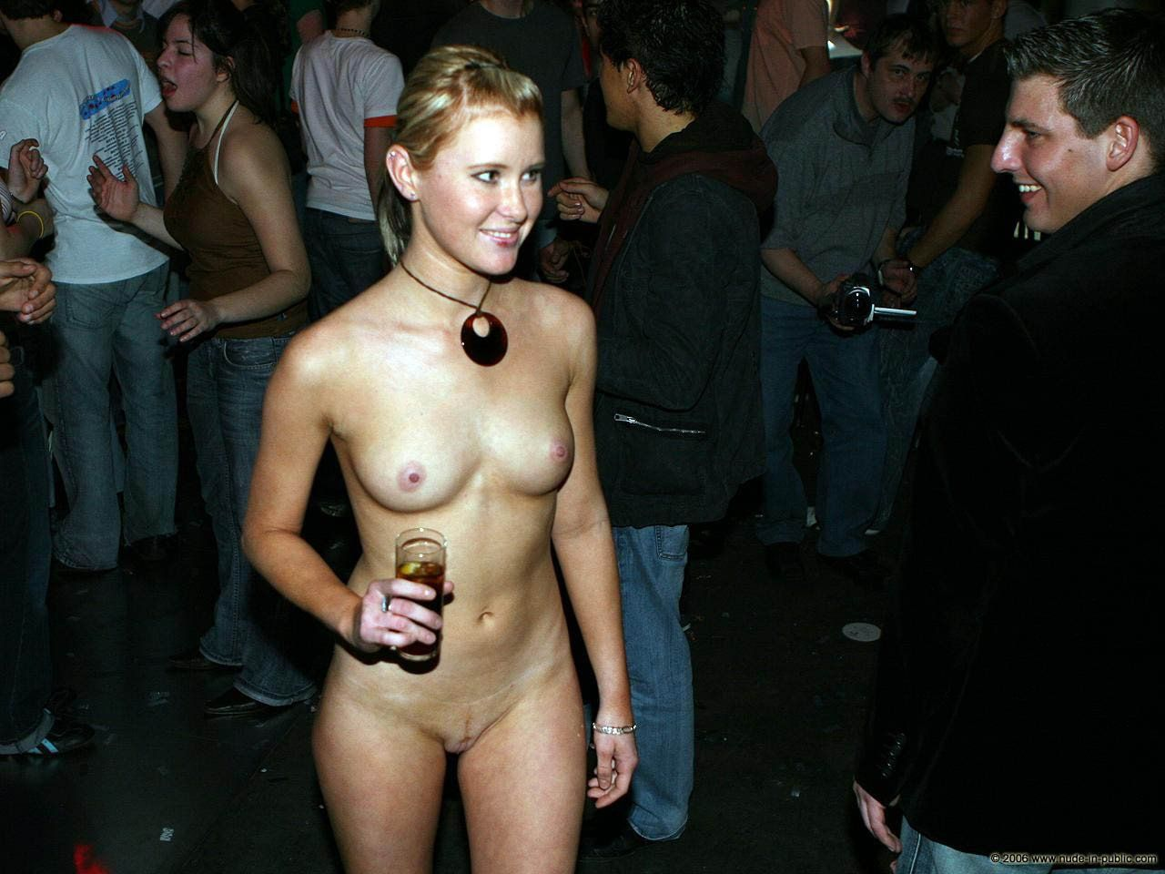 Wife naked party